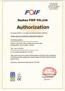 FOIF Authorization